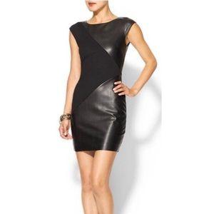 Bailey 44 Vegan Leather Dress, Like New! Lined.